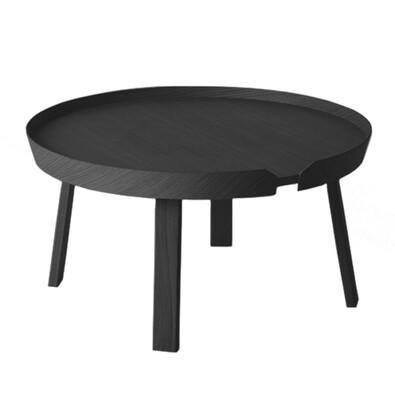 Konferenční stolek Around velký, černý