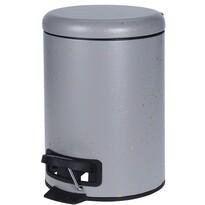 Coș de gunoi cosmetic Edmonton, gri, 3 l