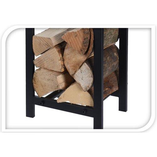 Stojan na dřevo, 59,5 x 30 x 22 cm