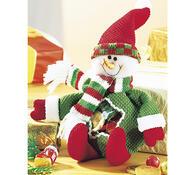 Darčekový snehuliak