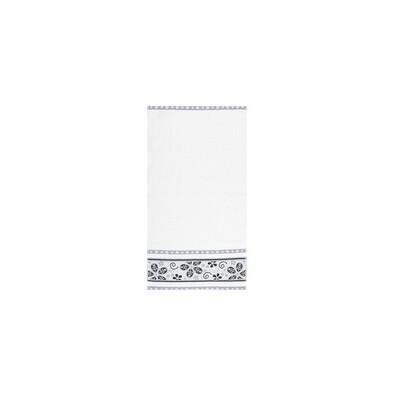 Ručník Fiora bílá, 30 x 50 cm