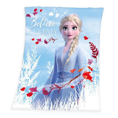Dětská deka Frozen 2 Believe journey, 130 x 160 cm