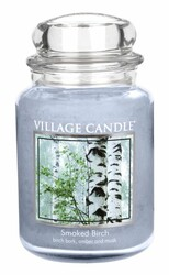 Village Candle Vonná svíčka ve skle, Bříza - Smoked birch, 645 g, 645 g
