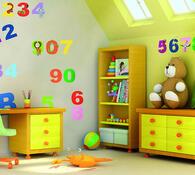 Samolepící dekorace čísla