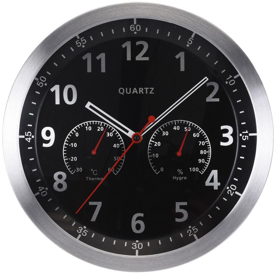 Nástěnné hodiny Fremont černá, 35 cm
