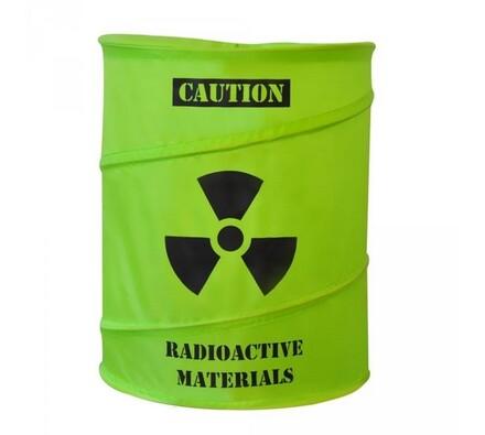 Koš na prádlo - toxický odpad