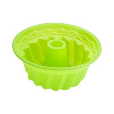 Renberg Silikonová forma na bábovku zelená