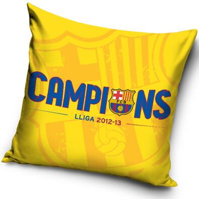 Polštářek FC Barcelona Campions, 40 x 40 cm