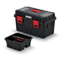 Kufr na nářadí Heavy černá , 58,5 x 36 x 33,7 cm