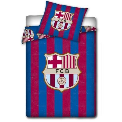 Bavlněné povlečení FC Barcelona Vintage, 140 x 200 cm, 70 x 80 cm