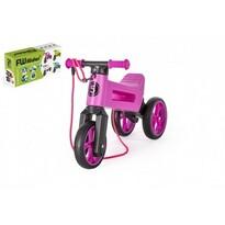 Teddies Odrážedlo Funny wheels Rider SuperSport 2v1, růžová