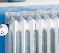 Folie za radiátor, stříbrná