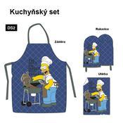 Kuchyňská souprava Homer Simpsons Blue