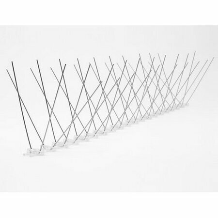 Aldo Nerezové ochranné hroty proti holubom, 50 x 12 cm