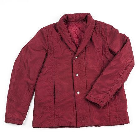 Prošívaný kabátek, vínová,XL
