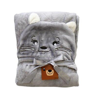 Domarex Detská deka CAT sivá, 75 x 130 cm