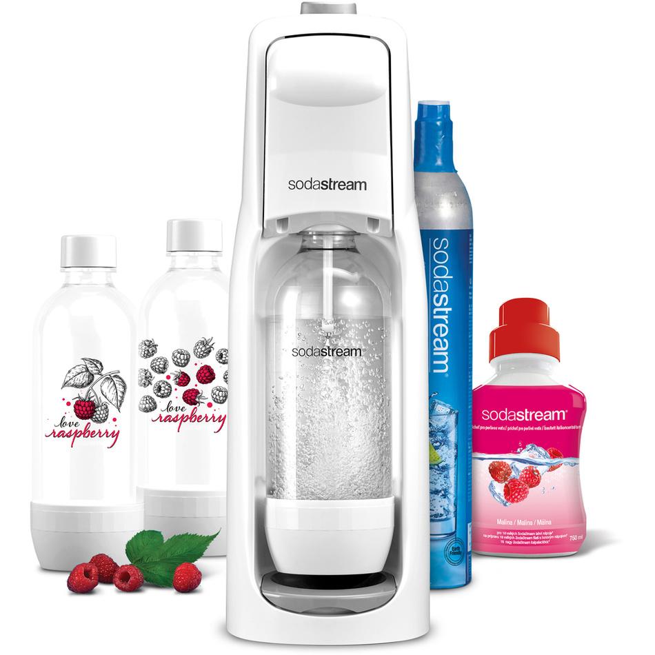 Limitovaná edice Jet Love Raspberry SodaStream