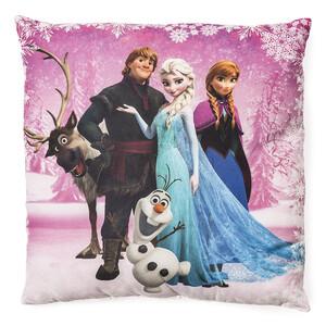Polštářek Ledové království Frozen pink, 40 x 40 cm