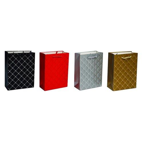 Zestaw luksusowych torebek prezentowych 17 x 23 x 8 cm, 4 szt.