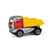 Lena Truckies billenős teherautó figurával, 22 cm