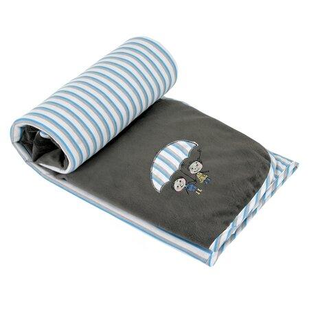 Pătură de copii Bára, gri, 75 x 100 cm