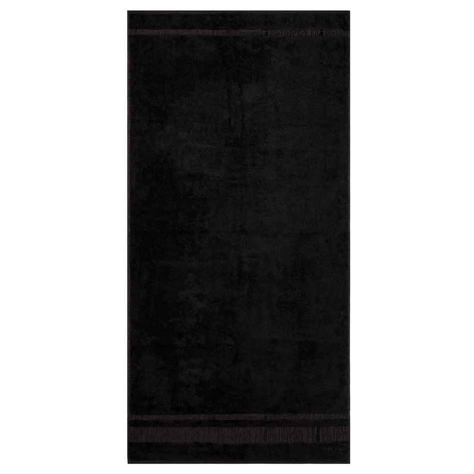 Bade HomeOsuška Bamboo černá, 70 x 140 cm