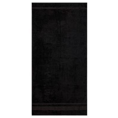 Osuška Bamboo černá, 70 x 140 cm