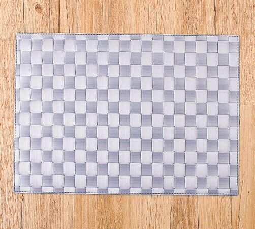 Prostírání Bast šedá, 30 x 45 cm, sada 4 ks