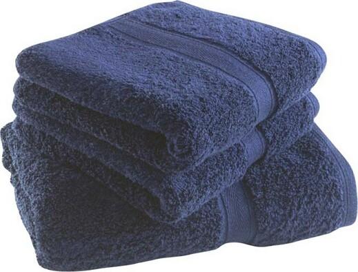 Ručník Felicity, tmavě modrý, 50 x 100 cm, tmavě modrá, 50 x 100 cm