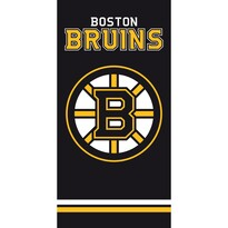 Osuška NHL Boston Bruins Black, 70 x 140 cm