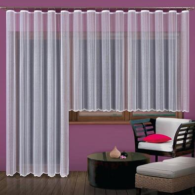 Záclona Alba, 300 x 150 cm