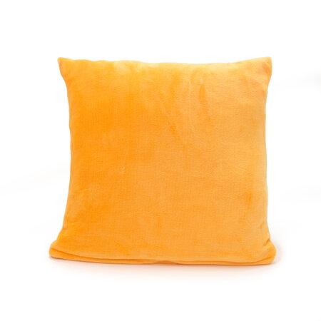 Pernă Micropluș New galben închis, 40 x 40 cm