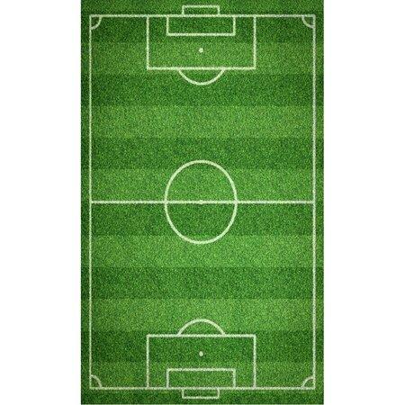 Prosop pentru copii Teren de Fotbal, 30 x 50 cm