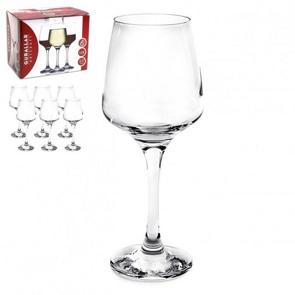 LAL Sada sklenic na víno 6 ks,