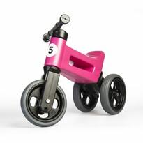 Teddies Odrážadlo Funny wheels Rider Sport 2v1, ružová