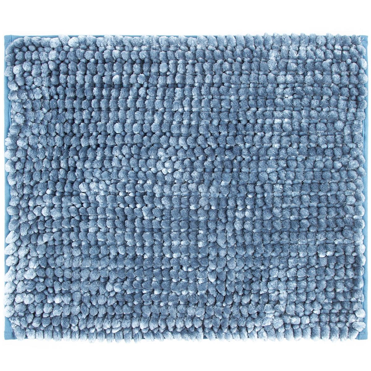 Bo-ma Koupelnová předložka Ella micro modrá, 40 x 50 cm