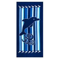 Ręcznik plażowy Delfin, 70 x 150 cm