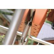 Balkónový truhlík na zábradlí terakota 18 l