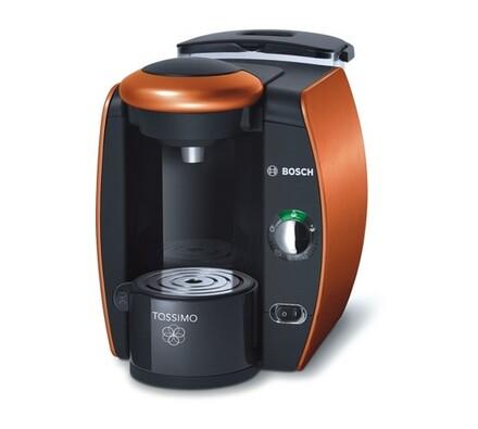 Espresso Bosch Tassimo TAS4014EE, oranžová