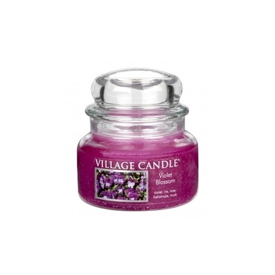 Village Candle Vonná svíčka Fialky - Violet Blossom, 269 g