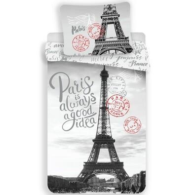 Paris Good Idea pamut ágynemű, 140 x 200 cm, 70 x 90 cm