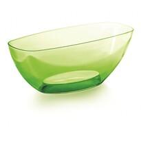 Coubi dekoratív tál, zöld, 36 cm