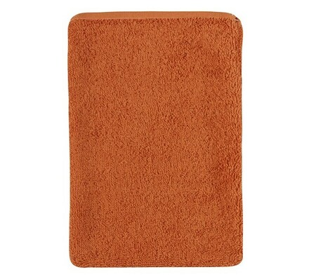 Froté žínka, terra, 17 x 25 cm, oranžová, 17 x 25 cm