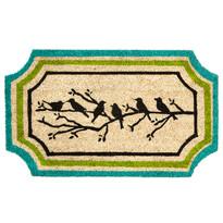 Kokosová rohožka Vtáčiky na vetvičke, 45 x 75 cm