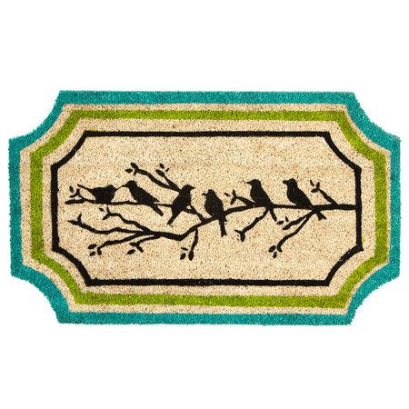 Birds shaped lábtörlő, 45 x 75 cm