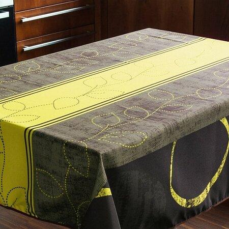 Matějovský márkájú Nero Green abrosz, 80 x 80 cm