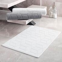 Matějovský márkájú Adria fürdőszobaszőnyeg, fehér, 50 x 80 cm