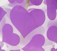 Skládací váza velká, fialová