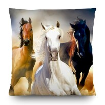 Pernă Horses, 45 x 45 cm