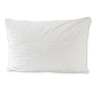 Povlak na polštářek krep bílá, 50 x 70 cm